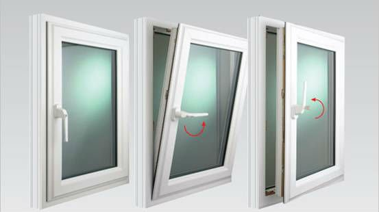 Upvc french upvc tilt turn windows by lakeside for Upvc french doors inward opening