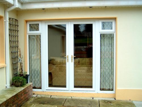 Pvc french doors sliding patio doors by lakeside window for French pvc doors